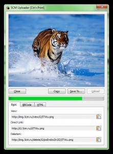 Приложение для загрузки скриншотов хостинг с трех кликов. Экономит время если Вам необходимо обмениваться изображениями.