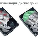 Что такое дефрагментация диска